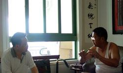 """王志纲与严忠明关于""""中国经济走势""""精彩的对话(点击放大)"""